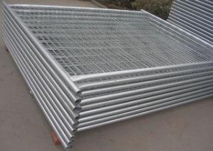 Temporärer Zaun/galvanisierte Stahldraht-Filetarbeit