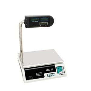 30kg Electronic Price Scale con Palo (ZZDT-6-1)