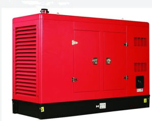 Трехфазное 400V/50Hz/1500rpm/400kw Soundproof Style Diesel Generator Set
