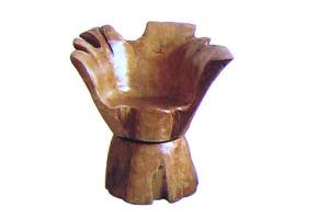 2015 nouvellement chaises en bois implorées fabriquées à la main confortables de racine