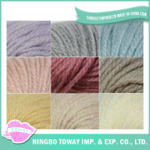 Bola do fio fios de lã acrílica Chunky Mão Knitting extravagante