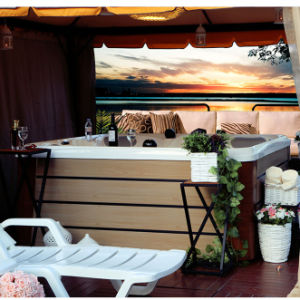 STATION THERMALE romantique de baquet chaud de STATION THERMALE de jacuzzi des places 5-6