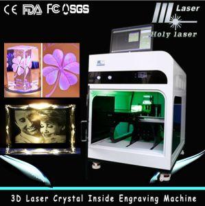 CE prouvées 2d machine laser 3D Cristal gravure (HSGP-2KC)