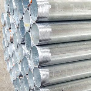 Threaded Ends를 가진 최신 Dipped Galvanized Round Steel Pipes