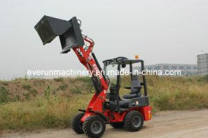 Ce van het Merk van Everun keurde Lader van het Wiel van China van 0.8 Ton de Mini goed