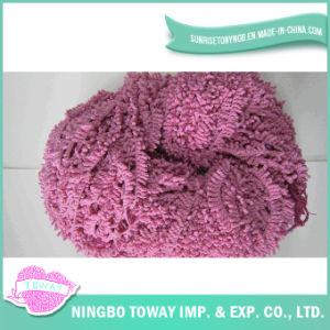 Poliéster Eco-Friendly que tricota manualmente o fio extravagante -2 do algodão de lãs