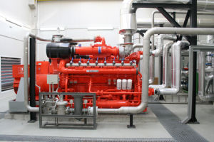 264kw-957kw Avespeed/Guascor Gas Genarator Set