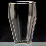 De Kop van het glas met Twee Laag
