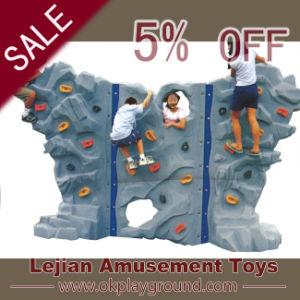 Le plastique populaire de jeux badine le mur d'escalade (12148B)