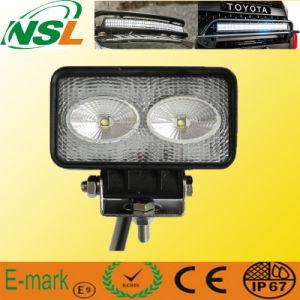 Lampe de camion de la lumière LED de travail de tracteur du rectangle 20W LED de CREE imperméable à l'eau