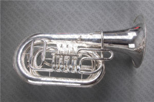 Argent modèle rotatoire de Tuba principal de C (TU-400S)