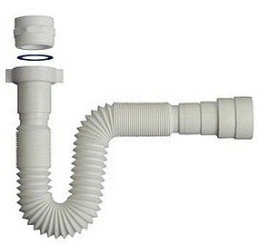 Tubo de desag e flexible del pvc oh rh 210a tubo de for Tubo de pvc flexible