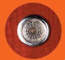 Porte en acier de sécurité avec le verre (CF-066)