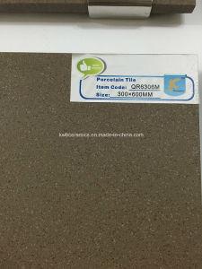 Tuiles Polished homogènes de porcelaine de sel et de poivre (QR6306P)