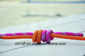 Corda de nylon dinâmica de Anpen 9.7mm para a escalada de rocha