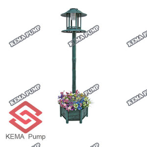 FlowerpotのプラスチックPP Solar Bird Feeder