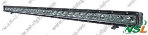 Guide optique simple 120W de la rangée LED de CREE avec le costume flexible de parenthèses pour le tracteur d'exploitation d'ATV SUV