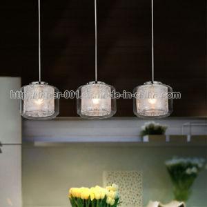 De moderne Verlichting van het Glas/de Lamp van de Tegenhanger van de ...