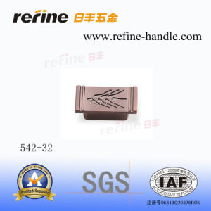 Poignée en alliage de zinc de tiroir de meubles (Z-542)
