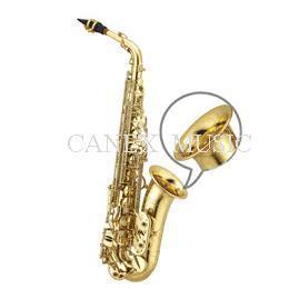 Laiton d'or de saxophone d'alto/saxophone d'alto/saxophone de qualité (Canex SAAB-P)