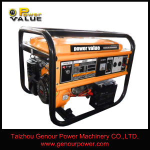 5kVA AC Gasoline Engine Electric Generator Key Start Air Cooled