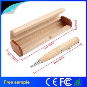 Natural de madera Pendrive madera forma de la pluma USB Flash Drive