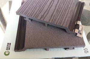 Decalque de parede exterior WPC, fácil instalação
