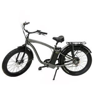 Incrociatore 48V13ah della città tutto il terreno 4.0 bici elettrica della gomma 500W di pollice dell'incrociatore grasso largo della spiaggia