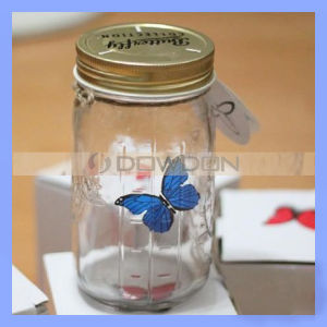 MehrfarbenArtificial Butterfly in Jar für Christmas Gifts (BUTTERFLY-01)