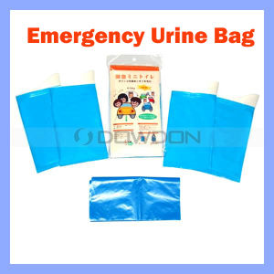 600CC Unisex Portable Urine Bag, Mini Toilets im Notfall (BAG-01)