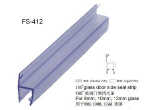 Selos de vidro do PVC da porta do chuveiro da alta qualidade