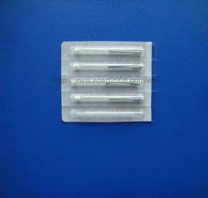 Aiguille d'acuponcture avec le traitement en aluminium de fil (CE05B-12)