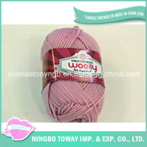 Acrílico tecelagem Hat Inverno Lã Pura fio de tricô