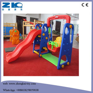 jardn de infancia juegos infantiles slide de plstico con baloncesto para nios