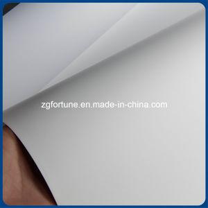 Inkjet que anuncia o rolo sintético da etiqueta dos PP do resíduo metálico da impressão