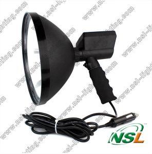 Projecteur extérieur CACHÉ par diamètre CACHÉ de l'objectif 35With55W, lumière rechargeable de recherche de chasse pour le sport en plein air
