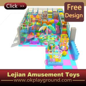 Cour de jeu d'intérieur préférée d'enfants avec la glissière de tunnel (ST1401-10)
