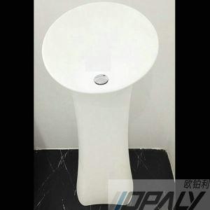 Lavabo sur pied en pierre artificiel lavabo autonome for Lavabo exterieur