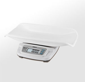 20kg tipo da tavolino pesabambini elettronico