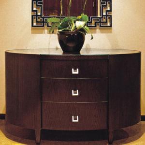 Ensemble de chambre moderne en bois de style chinois (EMT-A1205)