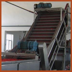 Elevador elevado da posição do raspador do aço inoxidável