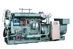 Утверждения ISO CE: 200kw Professional Marine Generator Set From Китай