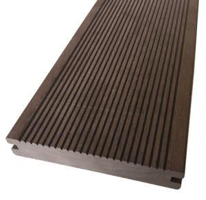 Decking exterior do Decking WPC do Decking composto plástico de madeira