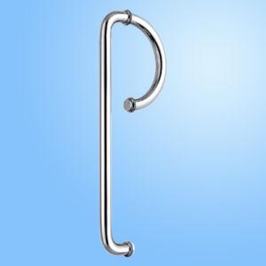 Alça de porta de vidro de chuveiro de aço inoxidável (FS-1902)
