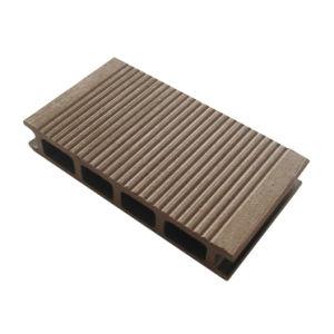 Prancha amigável do Decking da cavidade WPC de Eco (HO02515)