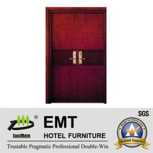 Portes en bois de chambre à coucher d'hôtel de luxe (EMT-HD11)