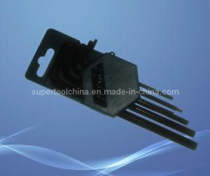 10PCS Black Cr-V Hex Key Key