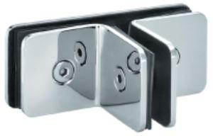 Conector de parede de vidro de três vias para banheiro (FS-528)