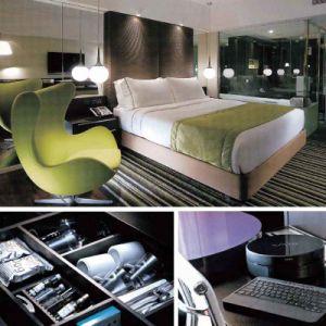 Ensemble de chambre à coucher animé attrayant de meubles d'hôtel de modèle (EMT-SKB15)
