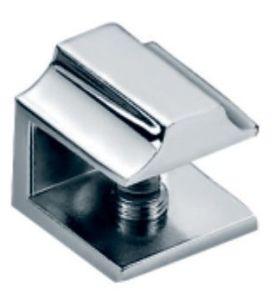Suporte de prateleira do banheiro do encaixe de vidro (FS-3023)